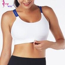 SEXYWG Yoga sans couture sport soutiens-gorge séchage rapide vêtements de sport haut court rembourré femmes pousser haut Impact Fitness gymnastique soutien-gorge gilet sous-vêtements