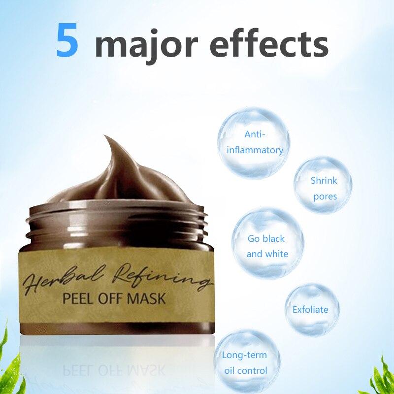 Máscara de limpeza profunda máscara de limpeza profunda 60g remover cravo máscara aplicar rasgo-fora máscara de remoção de poros de psiquiatra