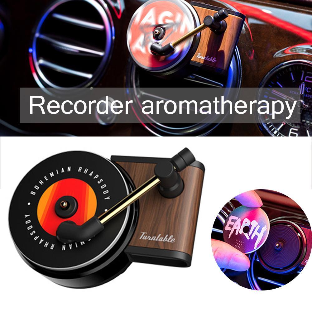 Universal Car Fragrance Diffuser Retro Unique Air Fresher Aromatherapy Ornaments Automotive Interior