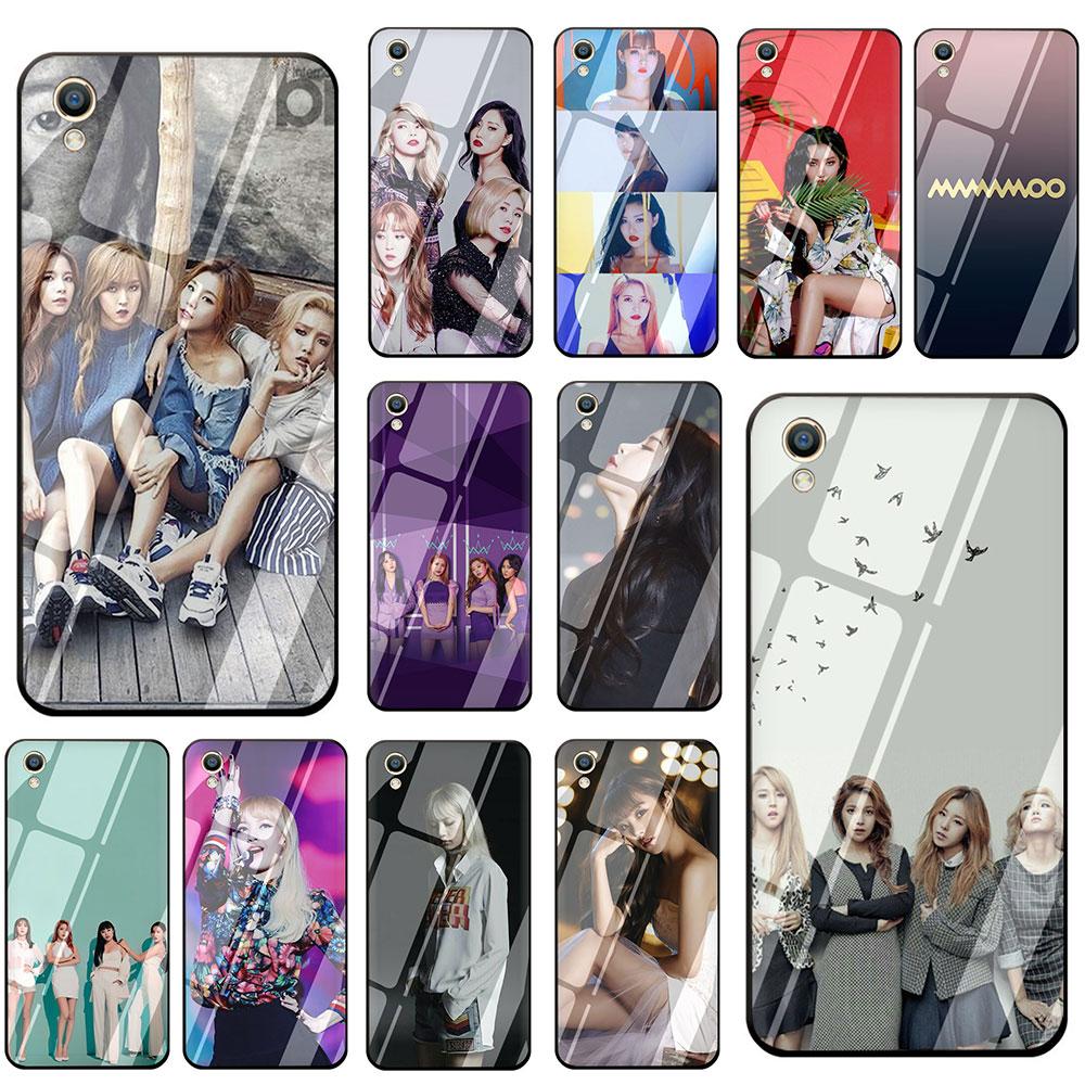 Kpop music MAMAMOO чехол для телефона из закаленного стекла для OPPO Reno Realme A3S A5 A1K A9 A37 A57 A59 A73 A77 A83 F7 F9 F11 Pro