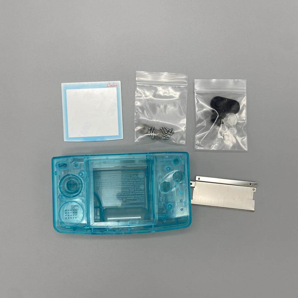 10 قطعة استبدال البلاستيك الإسكان شل غطاء حقيبة أدوات ل SNK NGPC رقيقة وحدة التحكم ل نيوتجيو جيب اللون رقيقة وحدة التحكم إصلاح