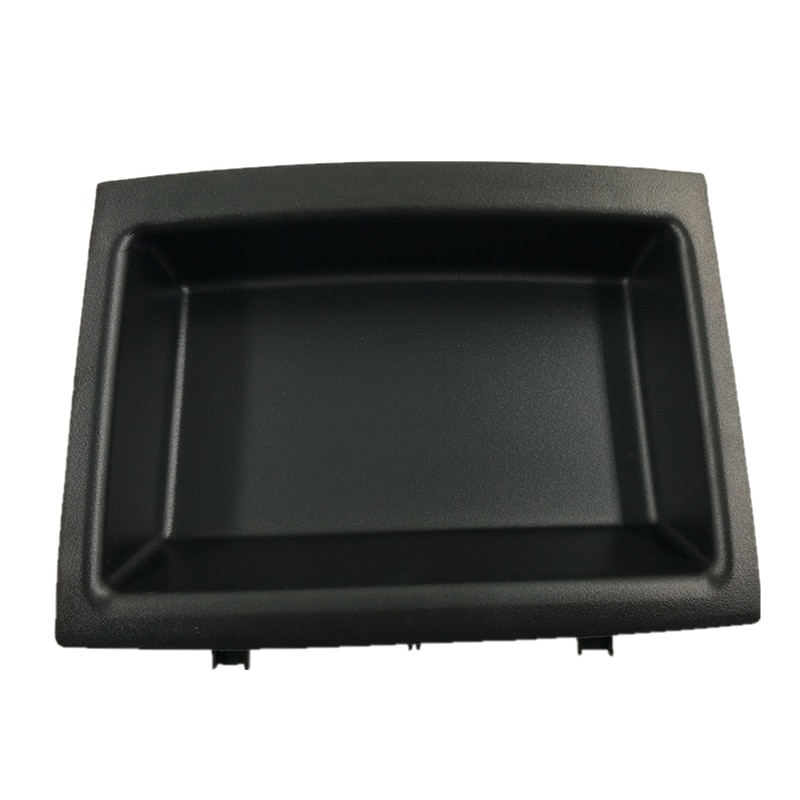 Para VW Polo 9n 2002-2008 6Q0858719A, 6Q0 858 719 una nueva consola de centro de coche bandeja compartimiento de almacenamiento estante con inserción de goma