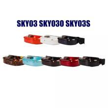 Skyzone SKY03 SKY03O Oled SKY03S 03O 03S 5.8GHz 48CH Diversity FPV Goggles Support OSD DVR HDMI With Head Tracker Fan LED For RC
