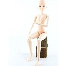 Großhandel 21 Beweglichen Gelenk BJD Männlichen Puppen Spielzeug mit 3D Augen 60cm Nackt Kopf Körper Bjd Puppen Spielzeug für Mädchen Weihnachten Geschenk