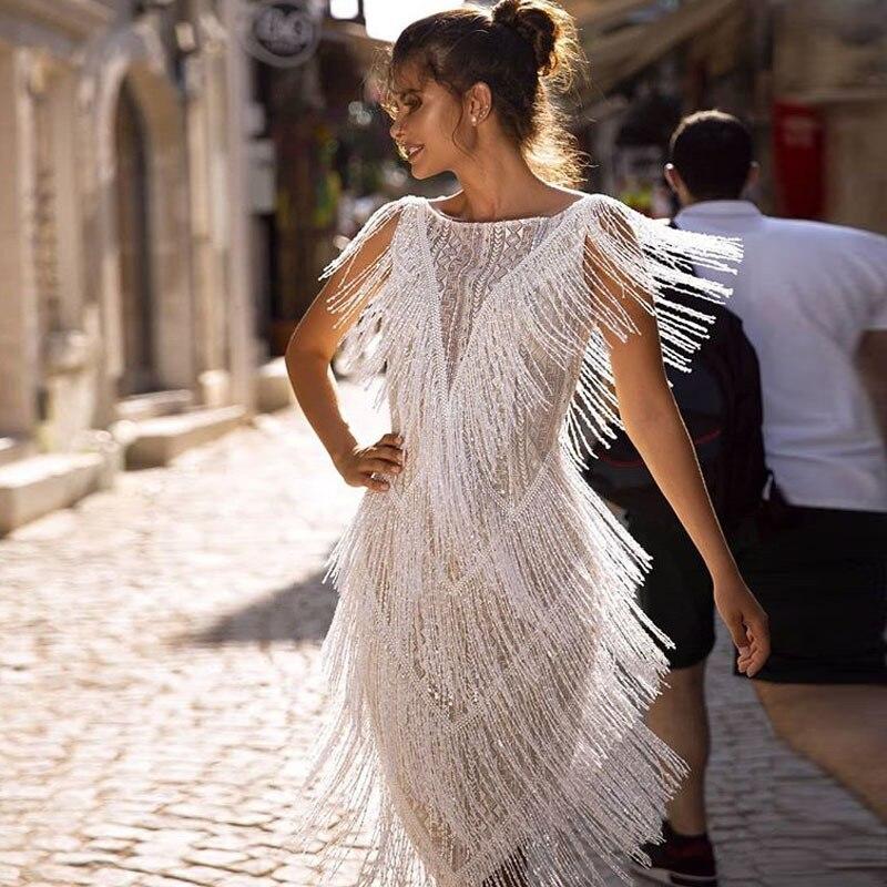 2021 Women's New Arrival Dress AliExpress Amazon Slim Fringe Dress