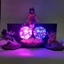 Dragon Ball Z Goku végéta vs Broly lampe Led figurines jouet Anime Dragon Ball Super Kamehameha Figurine DBZ Brinquedos