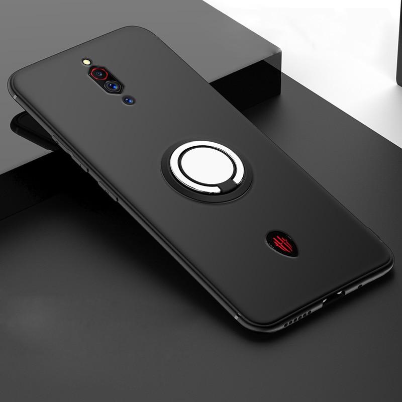 Чехол для zte nubia Red Magic 3 3S с кольцом на палец, мягкий чехол из ТПУ для zte nubia Red Magic 3 3 S, NX629J, NX619J