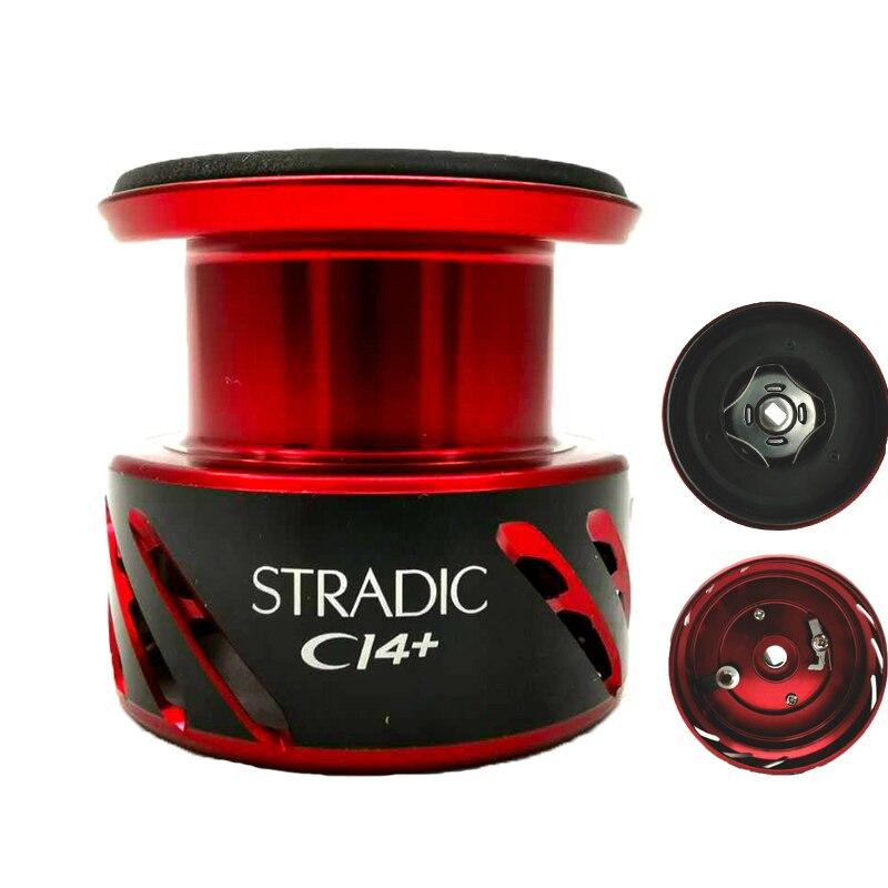 Carrete de pesca SHIMANO STRADIC CI4 + carrete 1000/2000S/C2000S/2500S/C3000/C3000M/4000 carrete