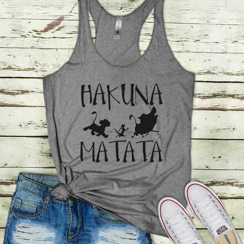 Seksowne ubrania plaża miłość festiwal topy podkoszulek damski Aloha Gothic Plus rozmiar zbiorniki biała dziewczyna