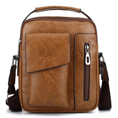 New Casual Fashion Men's Bag Men's Shoulder Diagonal Bag Men's Bag Handbag