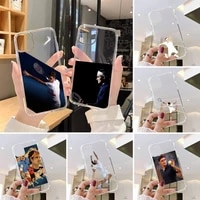 roger federer phone case transparent for iphone 7 8 11 12 s mini pro x xs xr max plus cover clear mobile bag