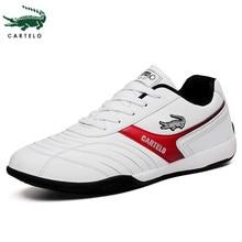 CARTELO Men's Shoes New Men's Sports Running Shoes Korean White Casual Shoes Men