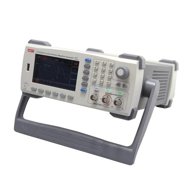 UNI-T UTG2062A 60MHz 2 canales función de señalización generador de onda arbitraria 250MSa/s Arb. Profundidad de memoria USB de 1M