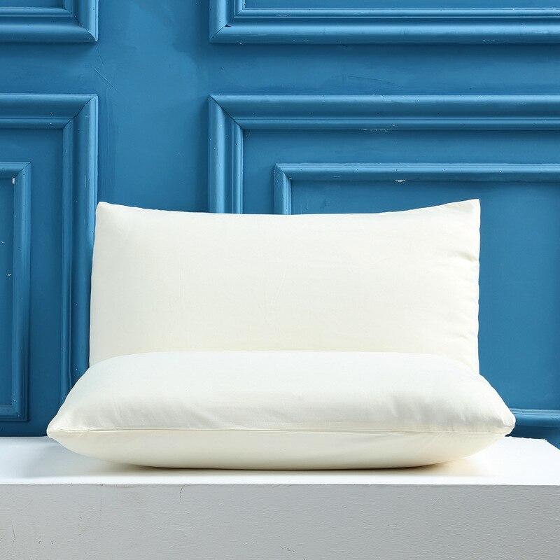 Чехол для подушки 2 шт. однотонный чехол для подушки Чехол для постельного белья черная наволочка для подушки Чехол для подушки на заказ 50x70 ...