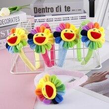 Color Sunflower Headband Wash Face Soft Makeup Lady Hair Bands Accessory Turban Women HW-headwrap Hair HoopBaby GirlHeadwear