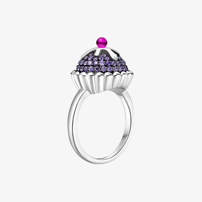 Anillo de joyería ROLILASON con diseño original de Plata de Ley 925 para mujer, anillo elegante de temperamento de gama alta