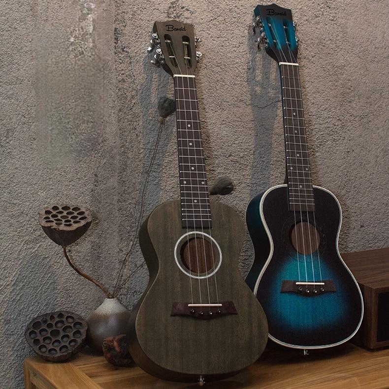 Portable Concert Ukulele Adults Practice Acoustic Classical Carbon Fiber Wooden Ukulele Concert Musica Musical Instruments