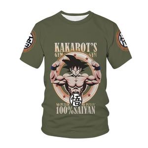 Summer Fashion New Dragon-Dalls 3D Printing Pattern Men's Short-Sleeved Casual Children Kawaii T-shirt apparel Clothing Tops