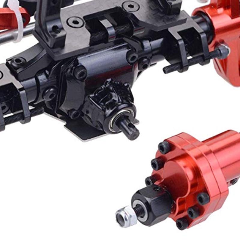 scx10 iii Metal Front & Rear Portal Axle for 1/10 RC Crawler Axial-SCX10 III 90046 90047 KIT Frame scx10 axle enlarge