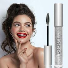 Diamond Glitter Mascara Slender Curling Quick Dry Waterproof Long Lasting Mascara Eye Makeup Cosmetics