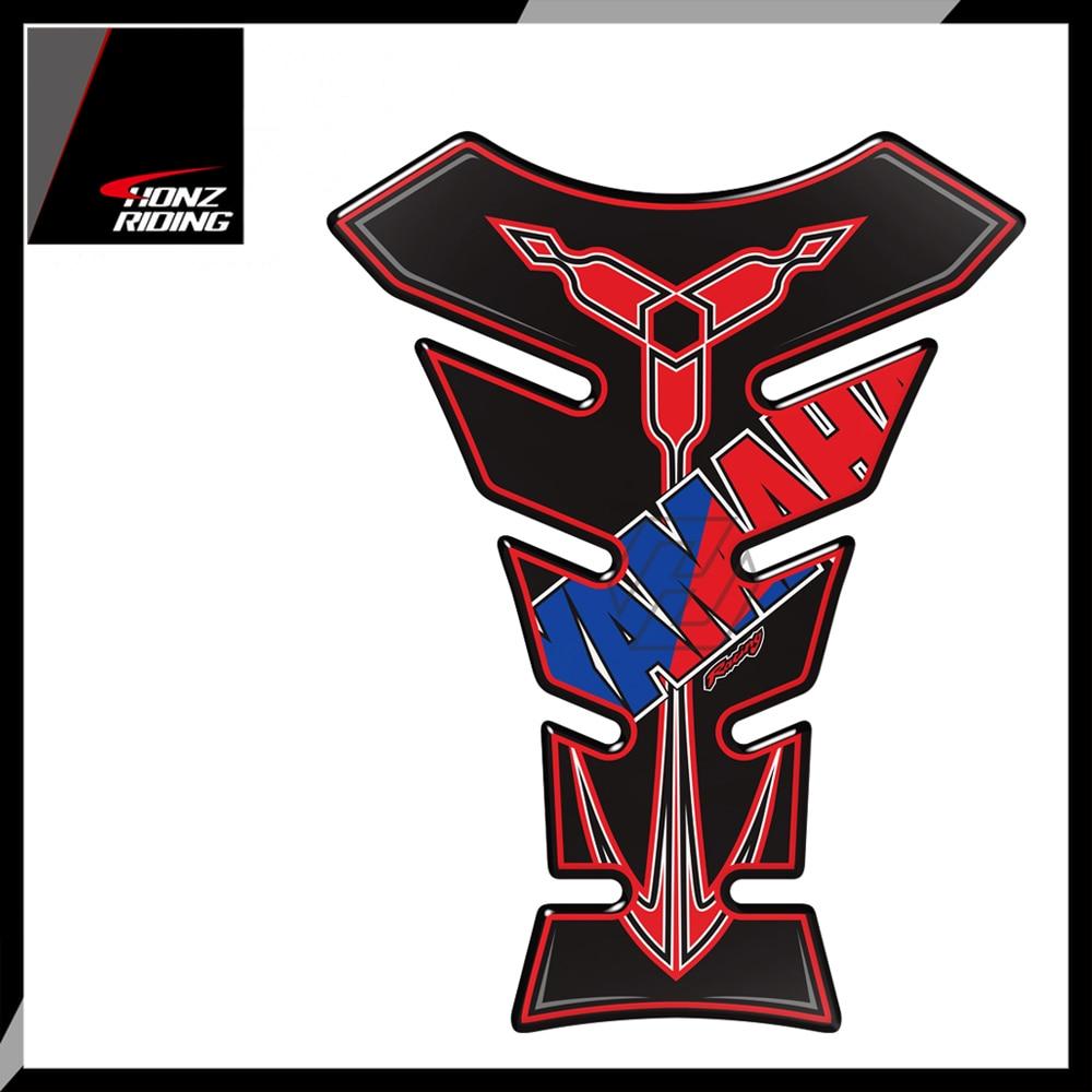 For Yamaha Honda Kawasaki Suzuki Aprilia Hornet Tank Pads 3D Universal Motorcycle Tank Pad Protector