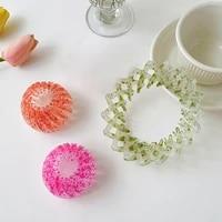 fashion womens bird nest expanding tail hair bun holder clips claw pins hairdresser fashion retro print hairstyle