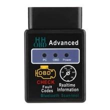 ODBII-outil de Diagnostic de voiture   Diagnostic professionnel de voiture, ABS noir, outil de Diagnostic de voiture BT2.1, lecteur de Code défaut, accessoires de voiture