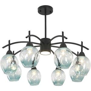 Современное искусство креативная Стекло шар подвесной светильник домашний декоративный подвесной светильник люстра для кафе гостиная Кух...