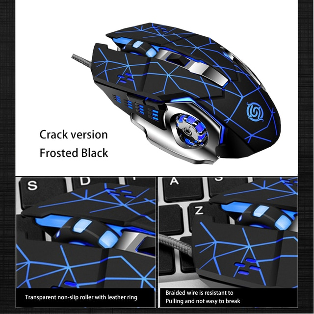 Hot Selling Viper Competition Q5 Gaming Mouse USB Wired CF Survival Chicken Pressure Gun Custom 10