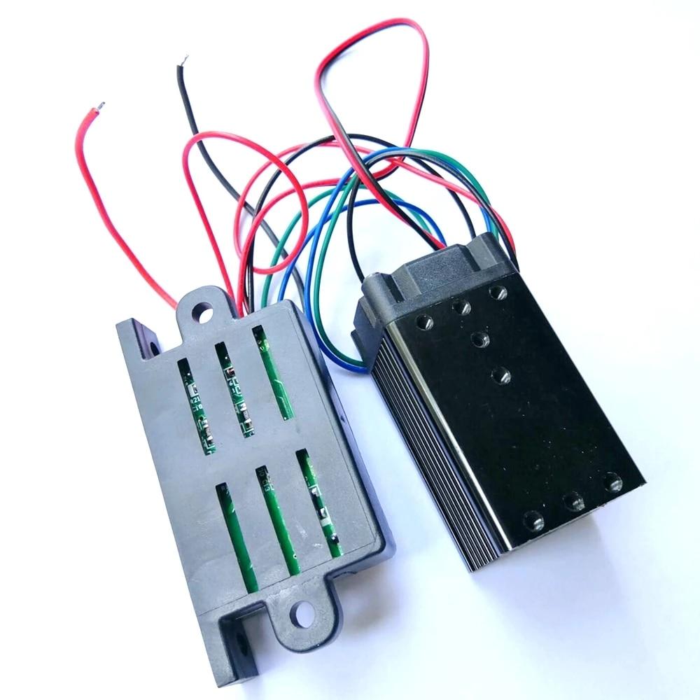 532 нм 100 мВт зеленый луч лазер диод модуль 12 В постоянного тока длительное время рабочий TTL +% 26 драйвер выход
