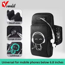 4.5-6.8inch Universal Outdoor Running Waterproof Sports Armband Bag for iPhone Samsung  Xiaomi Redmi