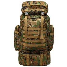 80L chasse Camping sac à dos alpinisme unisexe voyage en plein air Sport sacs sacs à dos en plein air sac à dos Camouflage 1