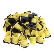 50 pièces outils dapiculture abeille reine roi Cage étui Anti morsure accessoires équipement