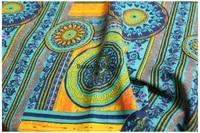 cotton linen fabric thicken fabric printed cloth pillow curtain table cloth cloth diy handmade christmas present craft supplie