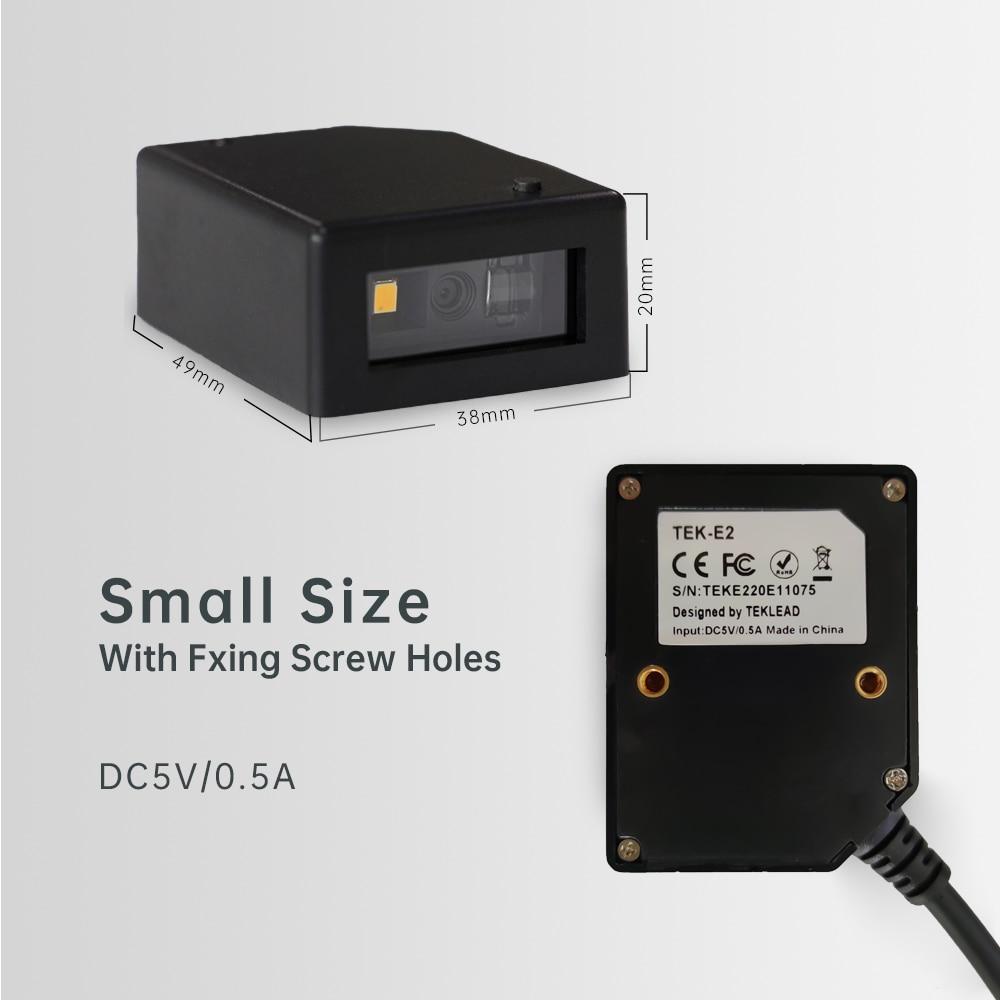 TEKLEAD-ماسح الباركود ، وحدة 1D و 2D USB و RS232 ، واجهة التحكم في باب آلة البيع ، محطة الخدمة الذاتية