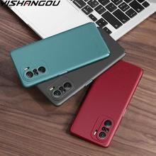 Ультратонкий матовый Жесткий Чехол для Redmi Note 9 Pro 9S 9T Redmi K40 Pro K30 Xiaomi POCO F3 Mi 11 Pro 10T Lite противоударный чехол