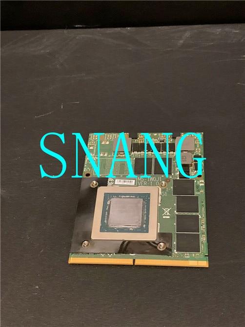 FOR    original GTX970M for MSI MS-16L1 MS-16L2 GT70 GT62VR GTX 970M GPU GDDR5 Graphics Vedio Card MS-1W0H1 works well free ship