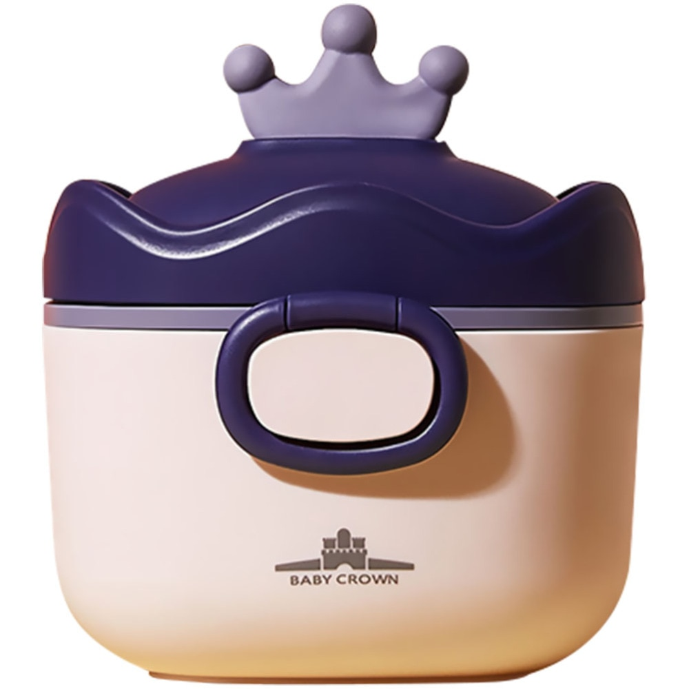 Portable Powder Box Moisture-proof Baby Formula Dispenser Snacks Container