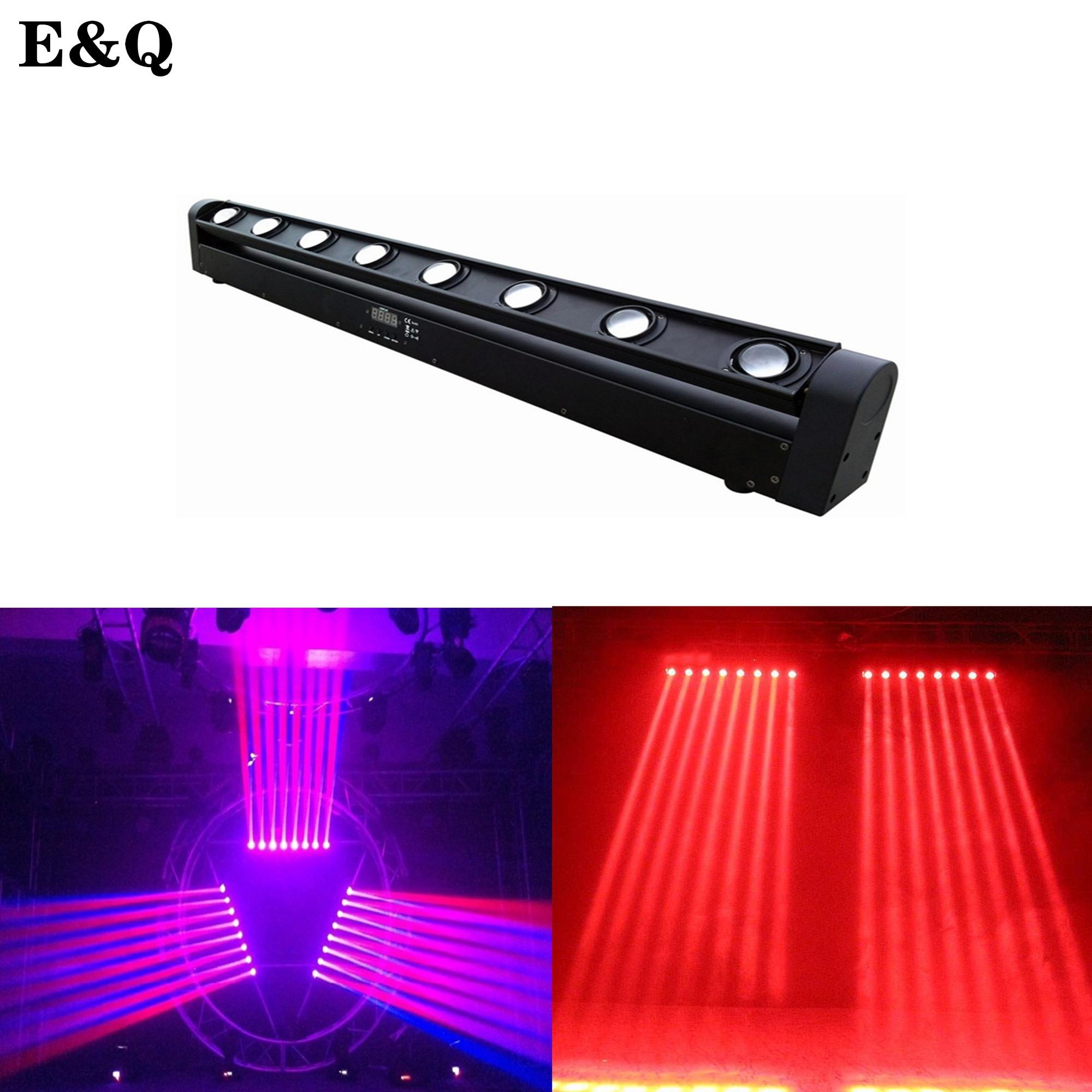 متعدد الألوان LED الإضاءة والشعاع المتحرك 8x12 واط RGBW ، تتحرك رئيس ضوء المرحلة ل Dj ومكان مع سطوع عالية