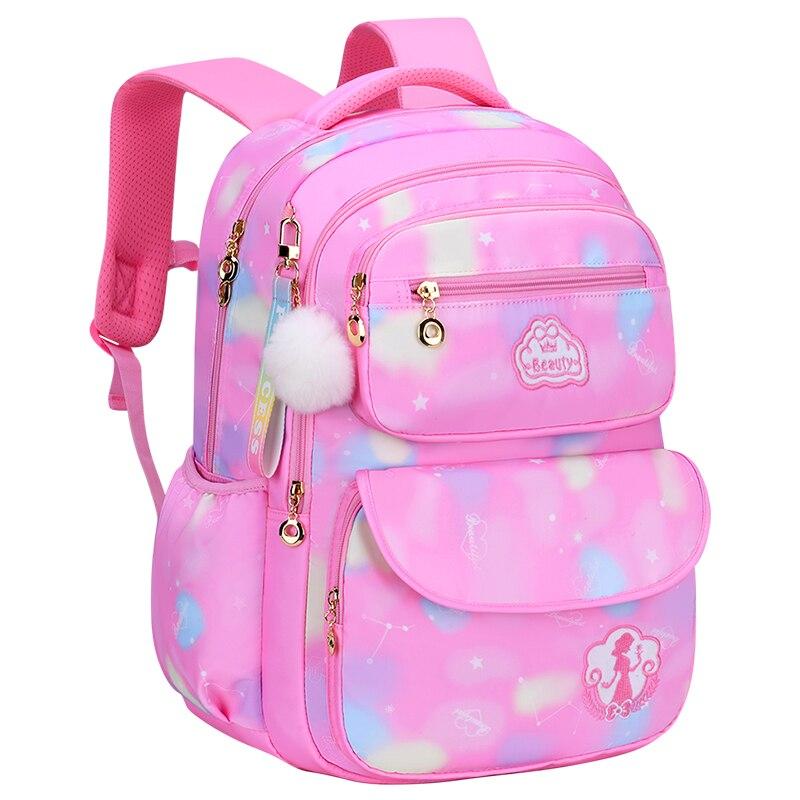 Популярные детские школьные ранцы для девочек-подростков, вместительные водонепроницаемые Рюкзаки для учебников