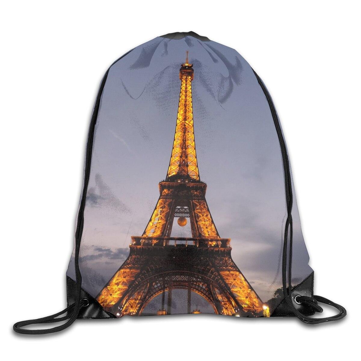 Модный мужской и женский рюкзак в Париже, легкий портативный складной спортивный дорожный ранец для фитнеса