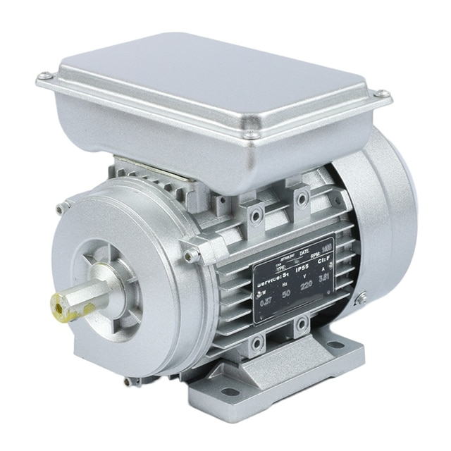 1450rpm 2hp مرحلة واحدة محرك تيار متردد 220 فولت 50 هرتز 0.55kw الكهربائية للعتاد