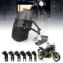 High Quality Motorcycle Accessories Universal Black Rear Fender Bracket Motorbike Mudguard For Honda Kawasaki Yamaha Suzuki BMW