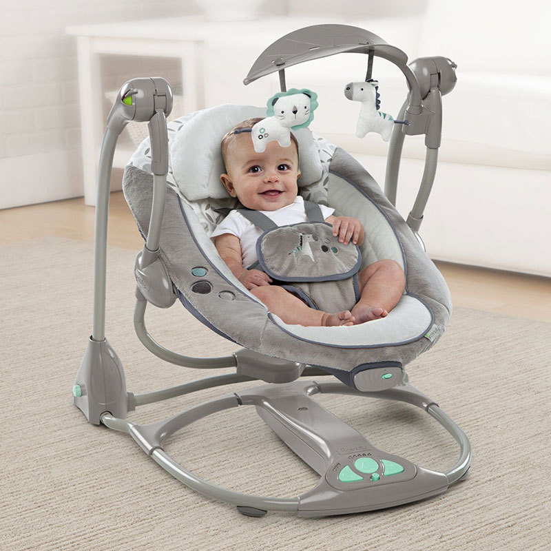 Newborn Gift Baby Rocking Chair Multifunctional Music Electric Swing Baby Comfort Chair Baby Cradle Suitable for 0-3 Years Old
