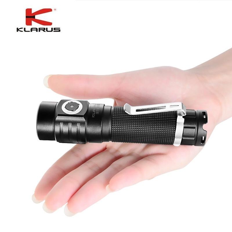 lanterna led cree embutida st10 com bateria li ion carregador usb lampada de 115