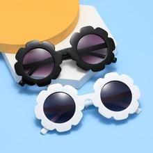 2021 New Kids Sunglasses Children Round Flower Sun glasses Girls Boys Baby Sport Shades Glasses UV40