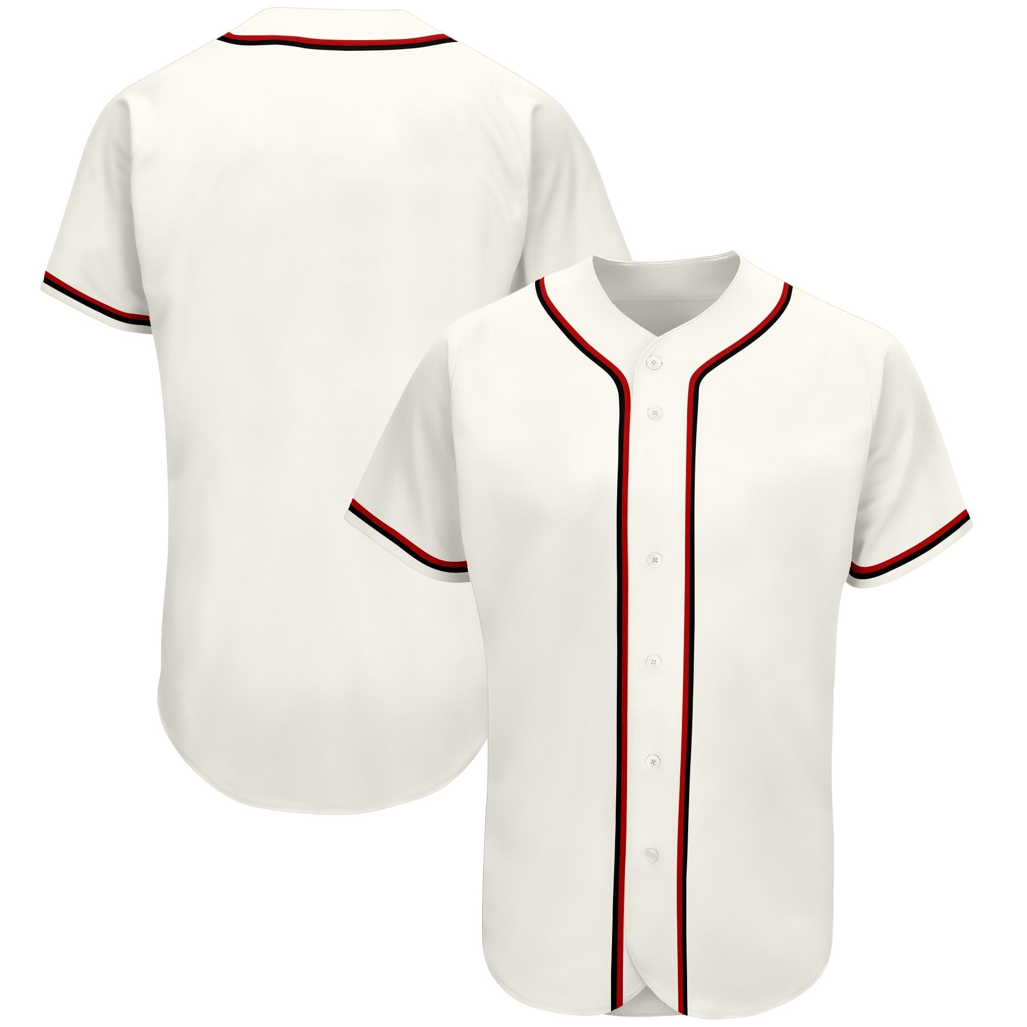 Недорогие мужские бейсбольные Джерси без рисунка под заказ, спортивные рубашки для спортсменов, униформа для чирлидинга