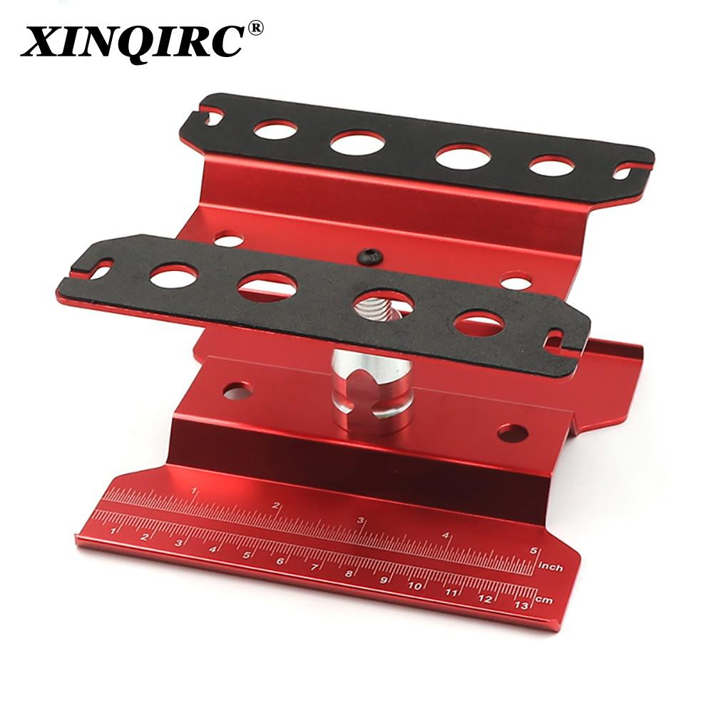 Metal Repair Station Work Stand Assembly Platform for 1/10 1/8 RC Car Traxxas TRX-4 Axial SCX10 90046 D90 RC Crawler Tamiya HSP enlarge
