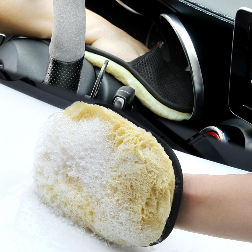 Car Cleaning Brush Cleaner Wool Soft Washing Gloves Brush for BMW MINI COOPER R56 R55 R60 R61 Countryman F55 F56 F60