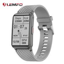 LEMFO Band 6 Smart Watch Men Bluetooth Call Smart Bracelet Fitness Bracelet Fitness Tracker Wristban